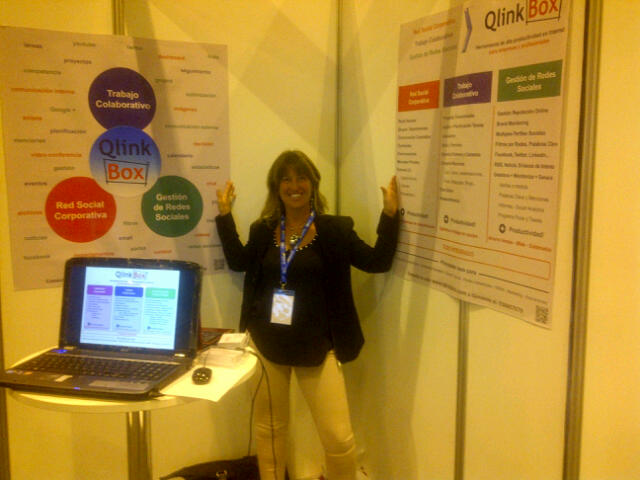 QlinkBox en e-Show Madrid